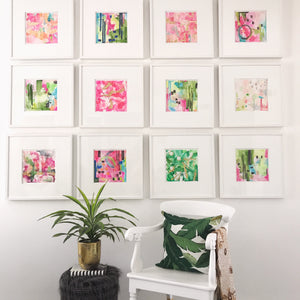 Gallery Wall Art by Roleen for Limezinnias Design