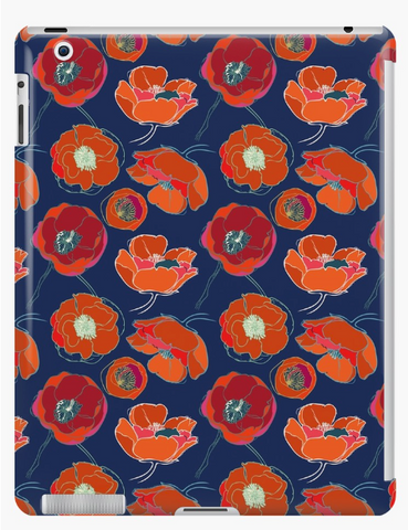 California Poppies iPad Cases & Skins