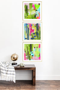 Flamingo Series Gallery Wall Set