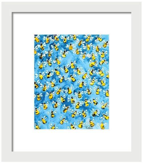 Busy, Busy Bee Print