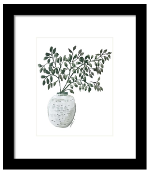 Eucalyptus In Pottery Print