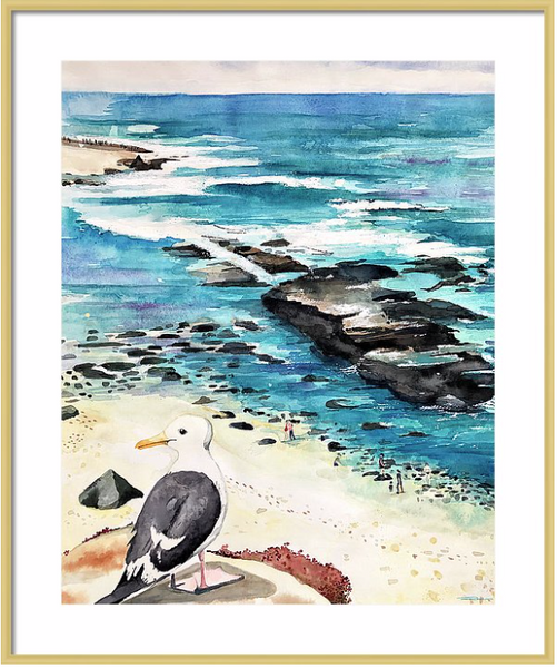 Birds-Eye View Print