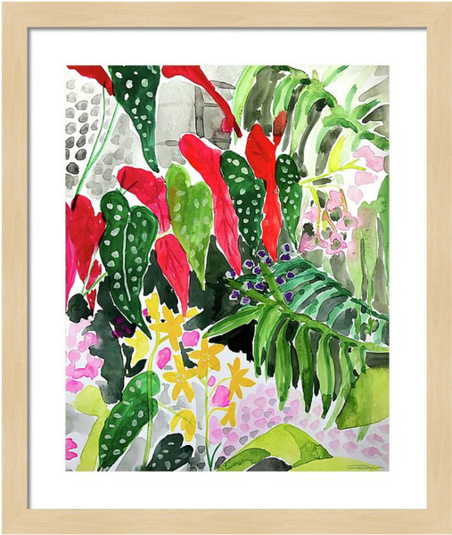 Botanical View Print