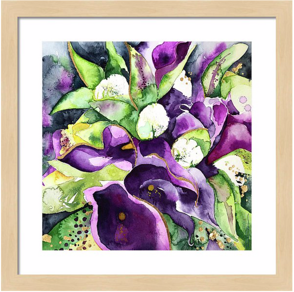 SoCal Lillies Floral Print