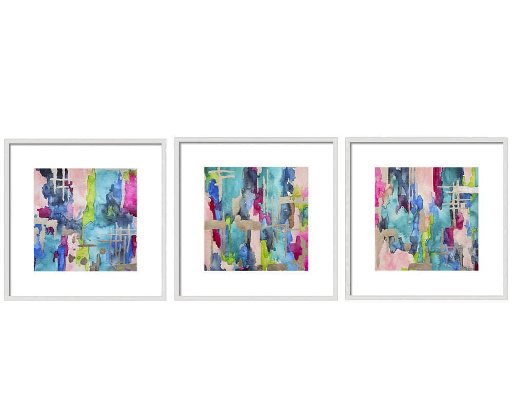 Baja Laguna Blue Gallery Wall Set
