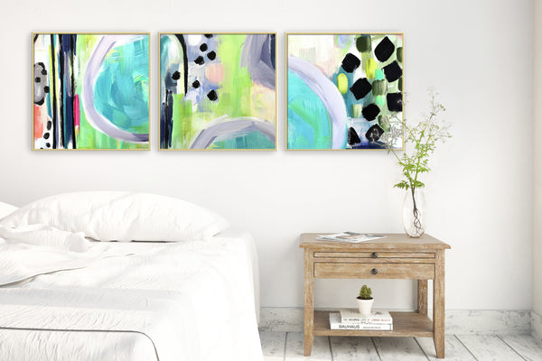 Collaboration Abstract Print Set