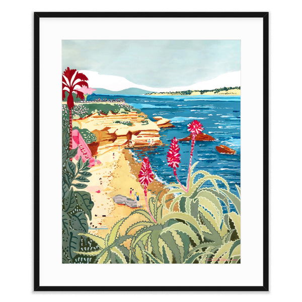 La Jolla Cove Overlook Print