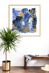 Chinoiserie Abstract Print