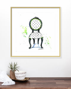 Emma Chair Print