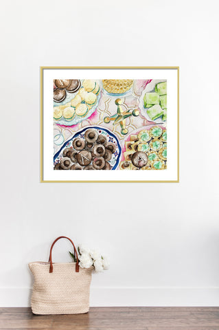 Pittsburgh Cookie Table Print