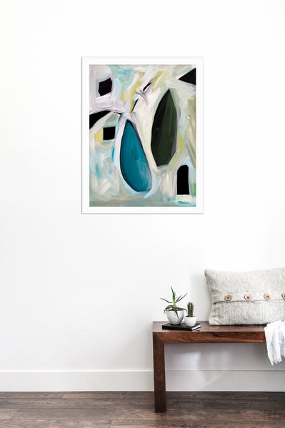 Chrysoprase Terra Gem Original Art