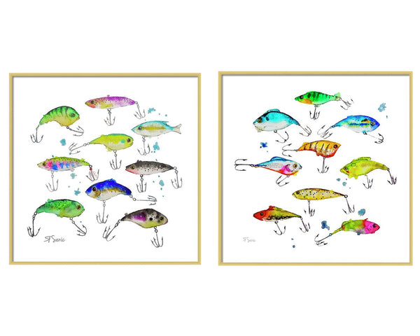 Fishing is Fly Art Print