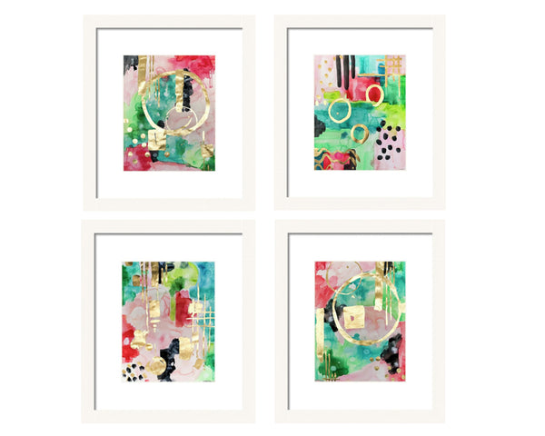 Miss Kate Series Abstract Print Set