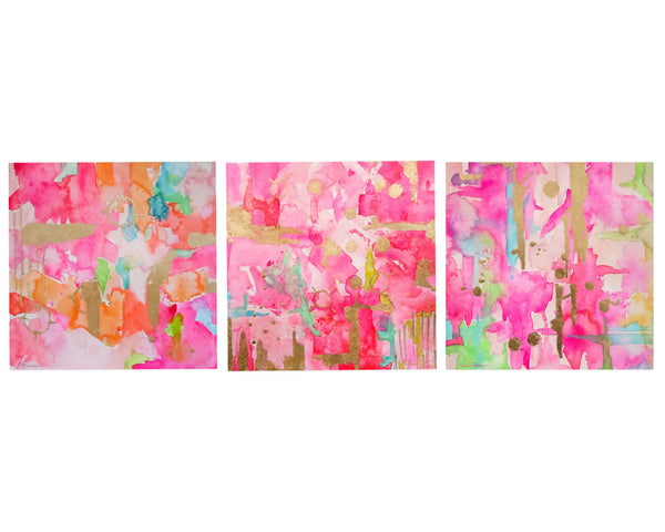 Pink Gallery Wall Set