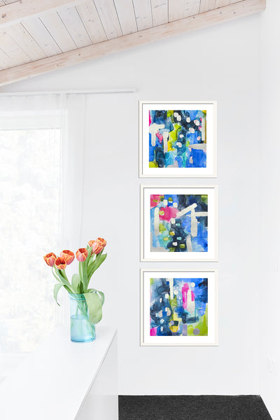 Blue Summer Breezes Gallery Wall Set