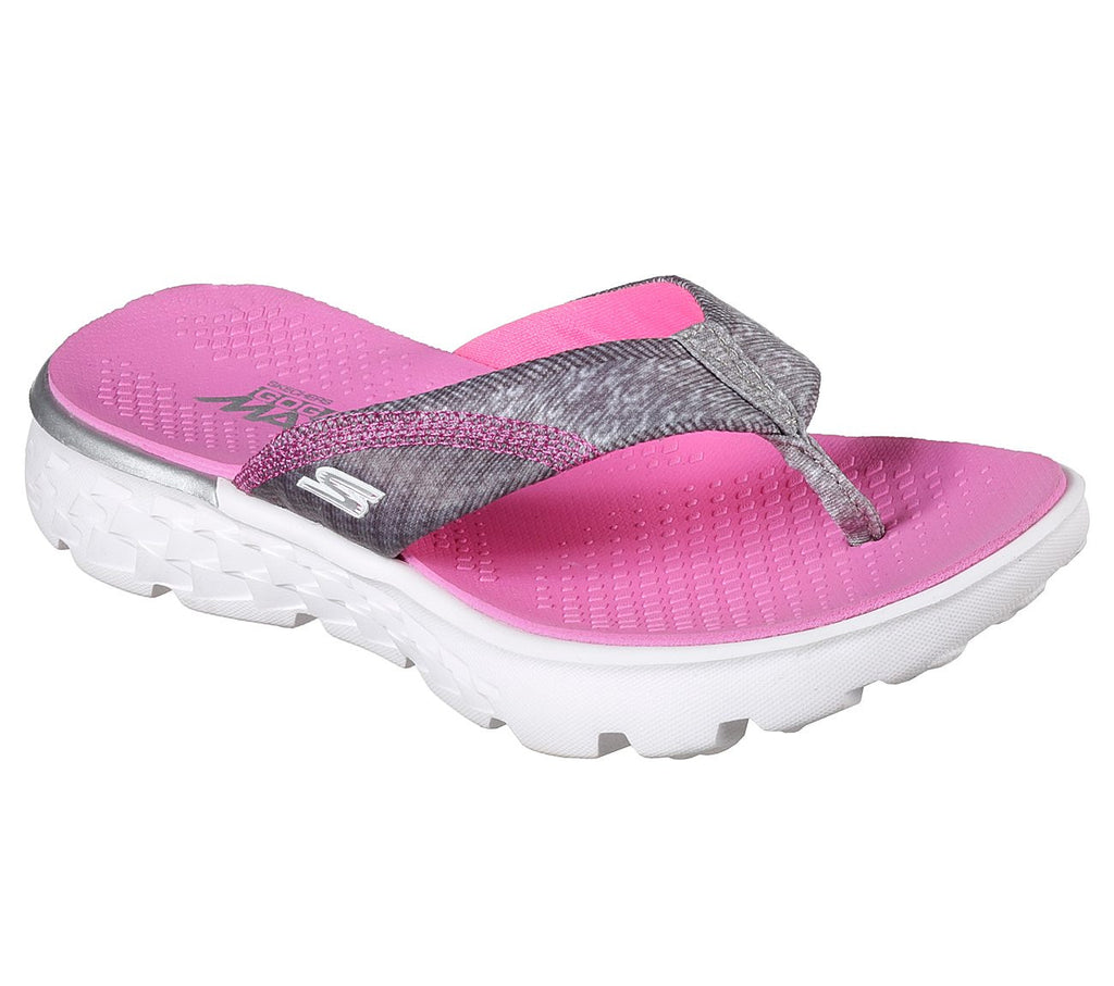 SKECHERS ON THE GO 400-LIL PIZAZZ GIRL SANDAL