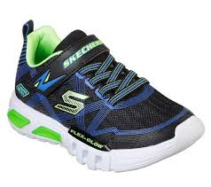 SKECHERS FLEX-GLOW KID SHOES