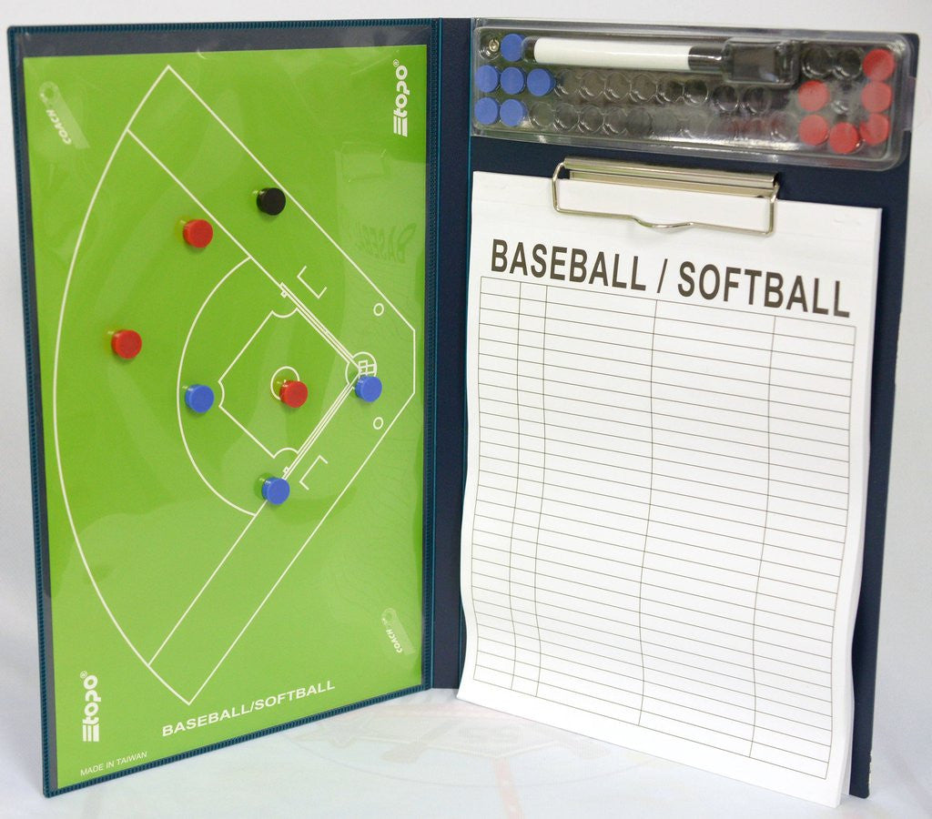 BASEBALL 2 FLAPS COACH BOARD
