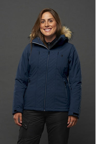 LIQUID LADIES INSULATED STRETCH JACKET-EDITH
