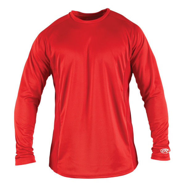 RAWLINGS PERFORMANCE BASEBALL LONG SLEEVES TEE