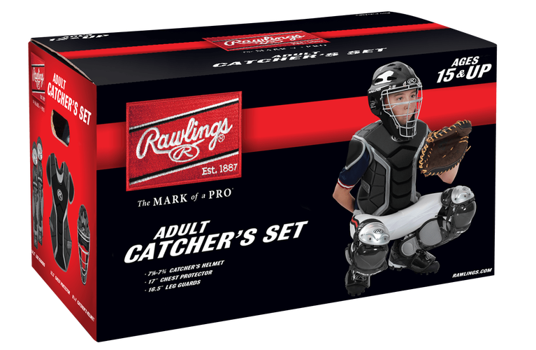 RAWLINGS ADULT CATCHER'S SET