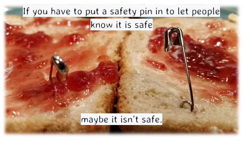 How Safe Are Safety Pins for Endurance Sporting events?