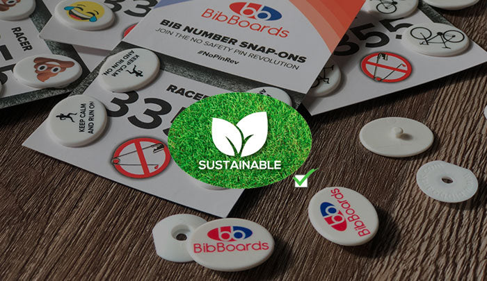 BibBoard Badges For Environmentally Friendly and Sustainable Endurance Races