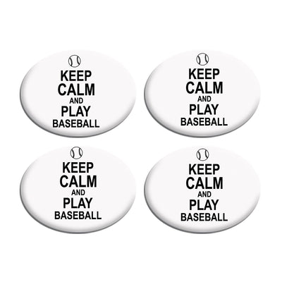 Keep Calm Play Baseball