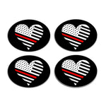 Flag Heart Thin Red Line