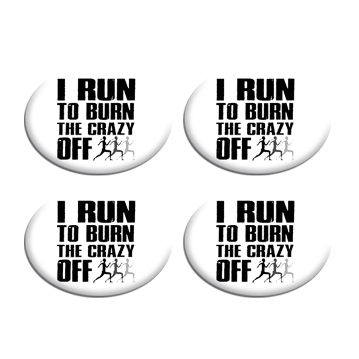 I Run To Burn the Crazy off