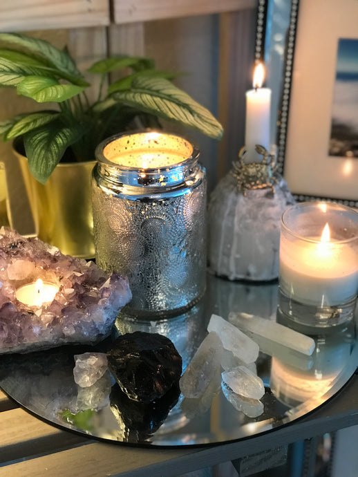 Crystals: Never leave (or have) a home without them.