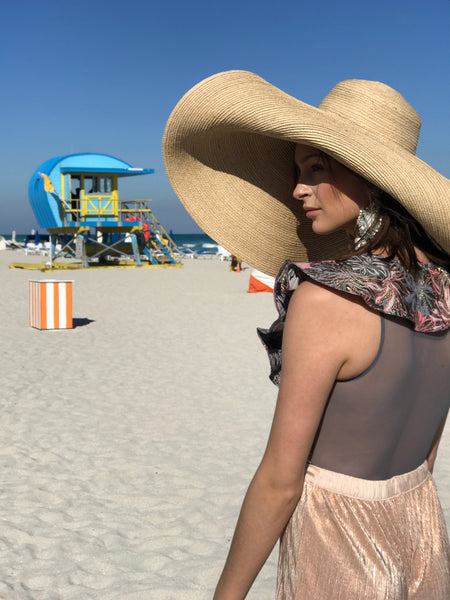 Large Sun hat for women