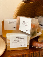 Retox soap bars for Sonder and Holliday