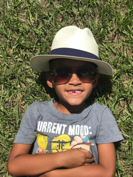 cool hats for boys, cool hats for boys, White, Fedora, Panama hat Styles for kids, boys, and girls. Panama hats for Kids.