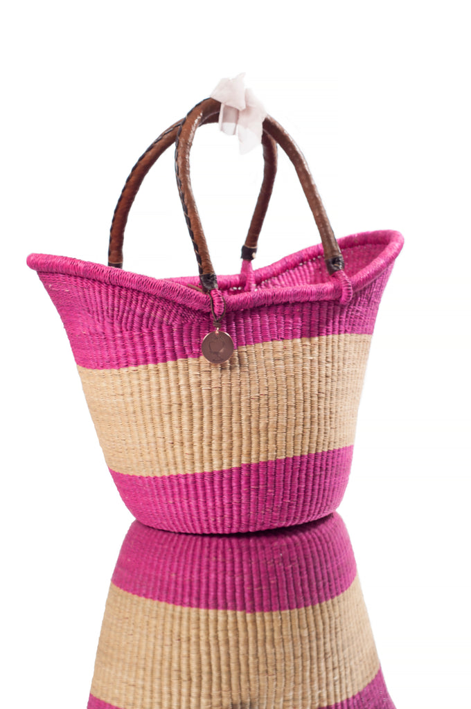 The Grand Victoria Basket | No.2 Bright Pink