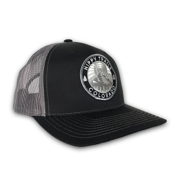 Black/Grey Mountain Patch Low-Pro
