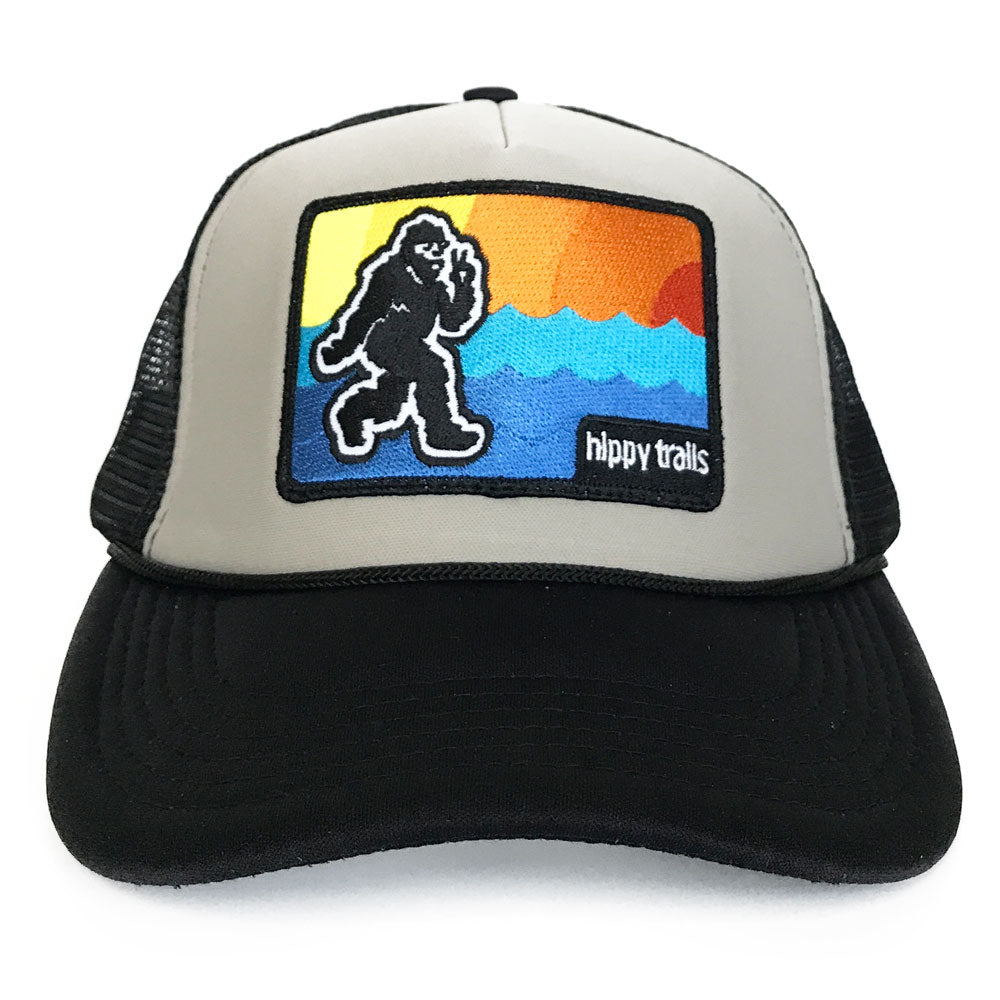 Black and Grey Coast Cruiser Trucker
