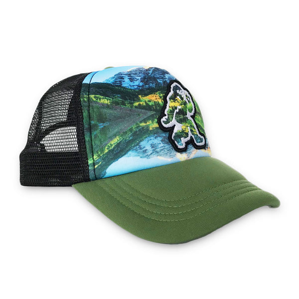 Green Maroon Bells Foam Trucker