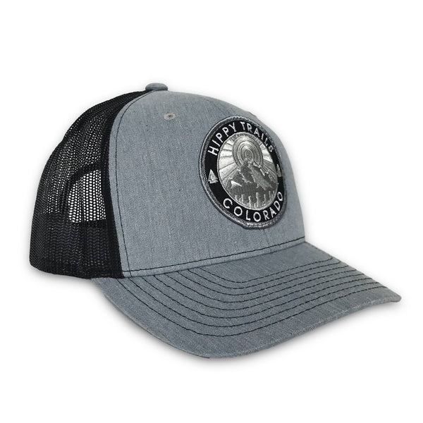 Grey/Black Mountain Patch Low-Pro