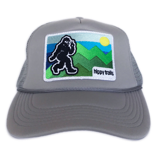 Grey Alpine Coaster Yeti Trucker