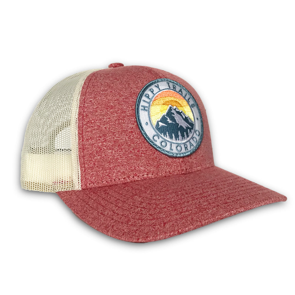 Heather Red Mountain Patch Low Pro