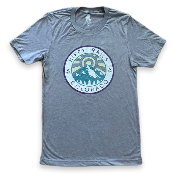 Grey Sunburst Tee