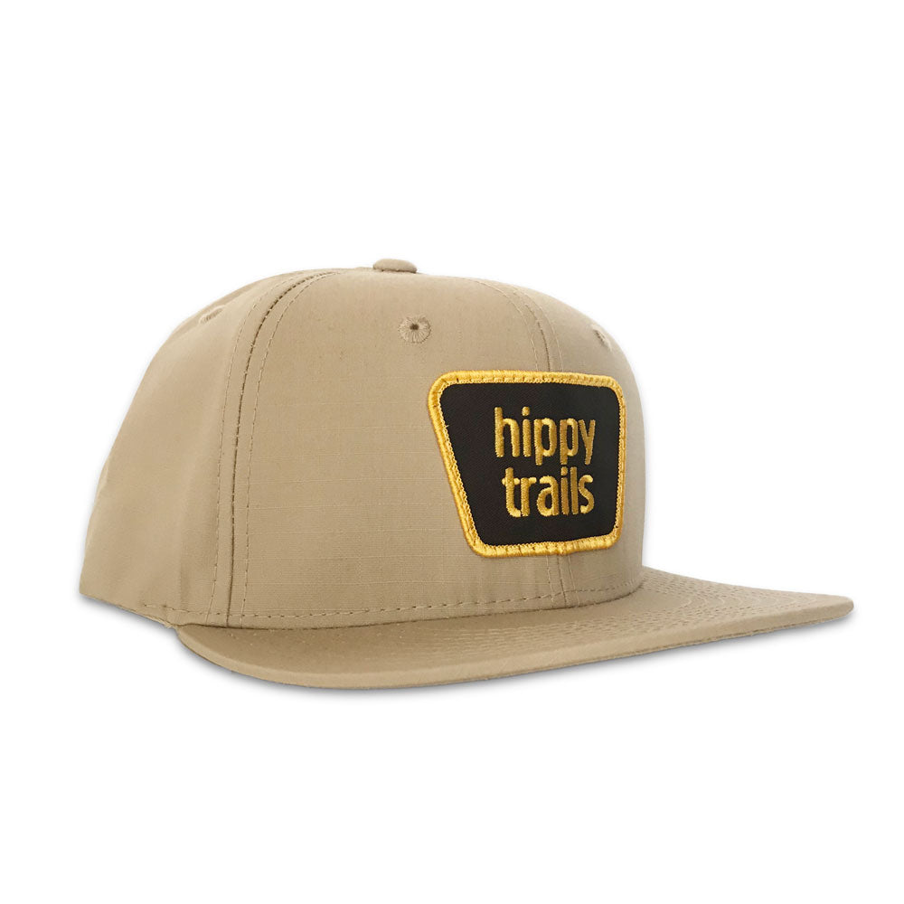 Light Tan Trailhead Ripstop Snapback