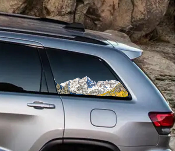 Maroon Bells Vehicle Decal