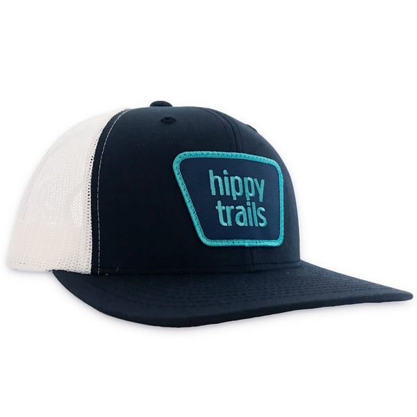 Navy/White Trailhead Mid Profile Trucker