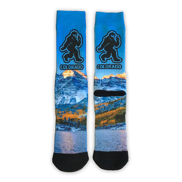 Yeti Maroon Bells Mountain Socks