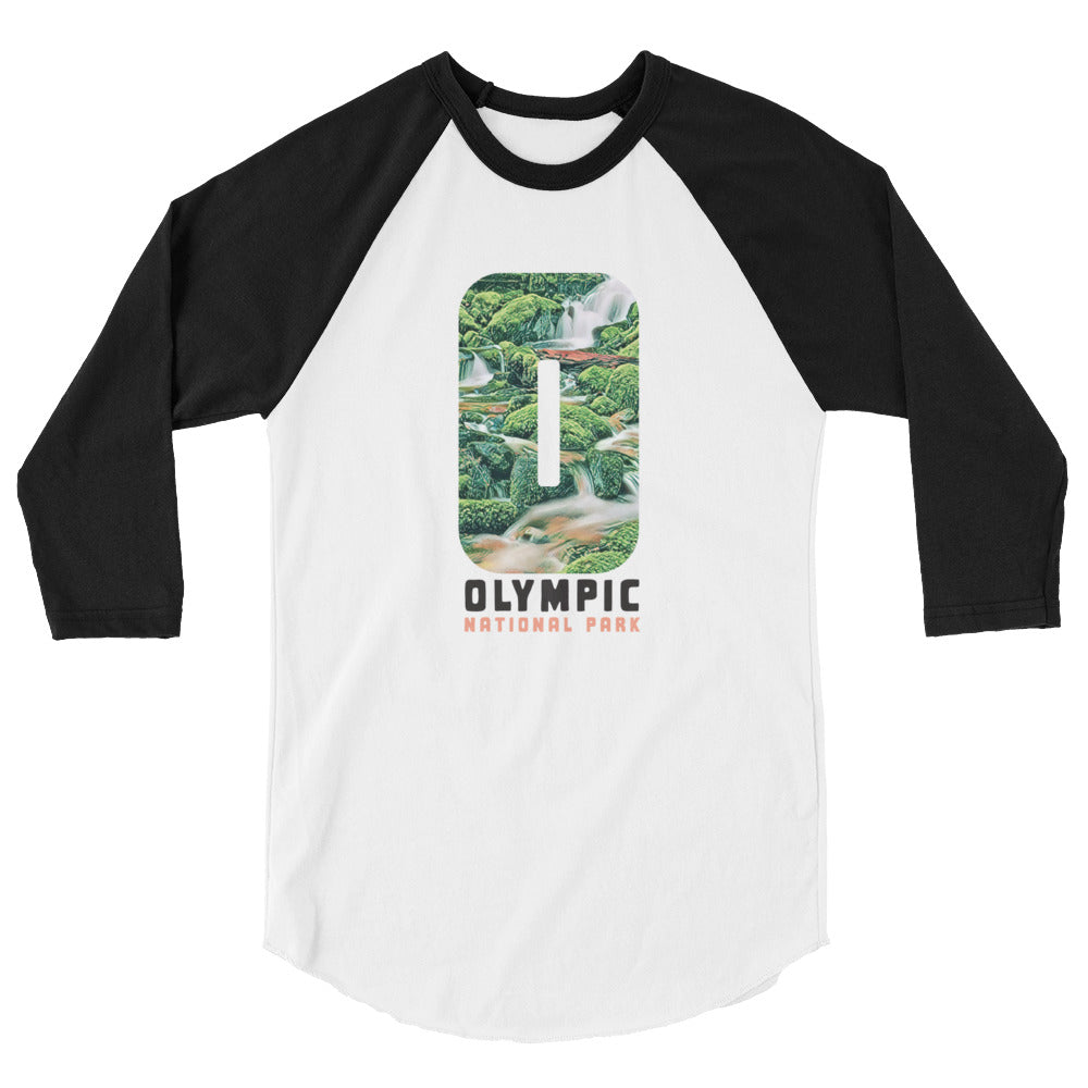 Olympic National Park Baseball Tee