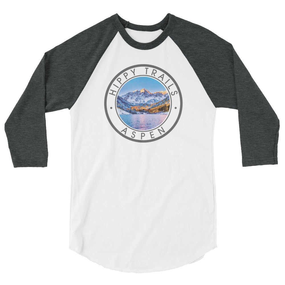 Aspen Badge Baseball Tee