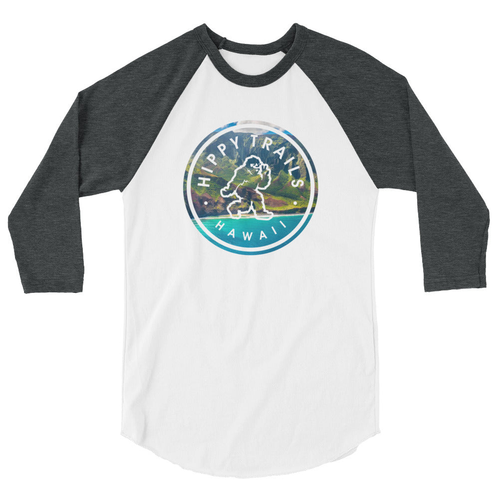 Hawaii Yeti Baseball Tee