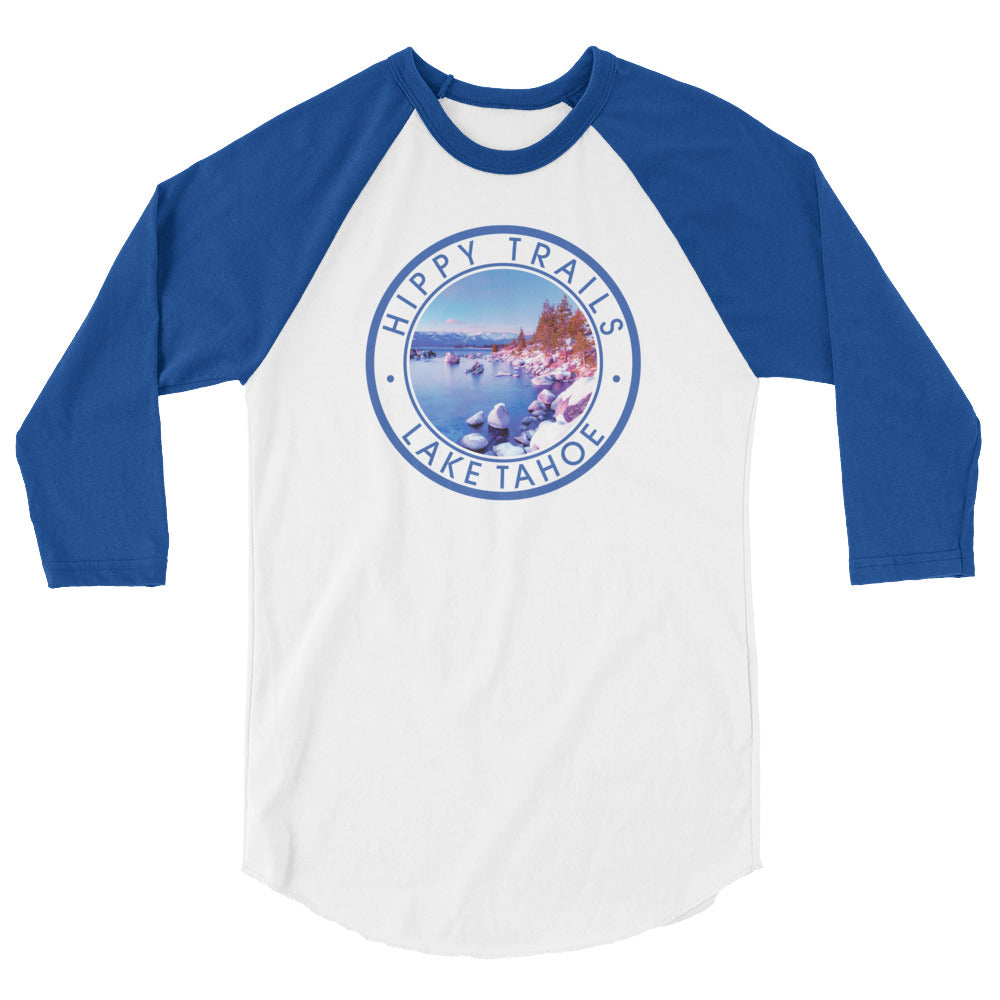 Lake Tahoe Badge Baseball Tee